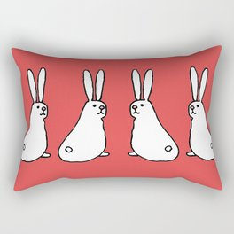 Usagi Rabbits Rectangular Pillow