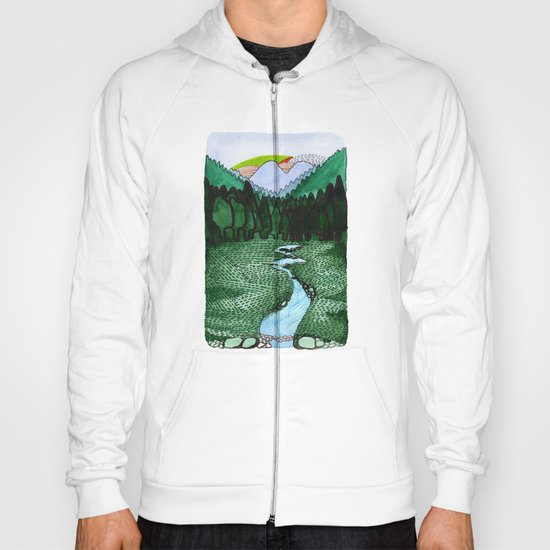 Landscapes / Nr. 2 Hoody