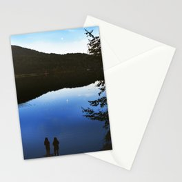 Camping by the Lake Stationery Cards
