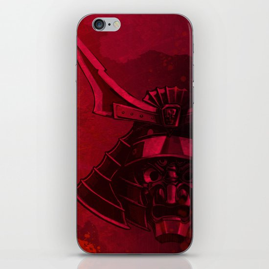 Kabuto with Mempo iPhone & iPod Skin