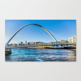 Gateshead Millenium Bridge Canvas Print