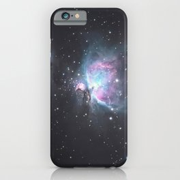 Great Orion Nebula M42, in the constellation of Orion, Milky Way iPhone Case