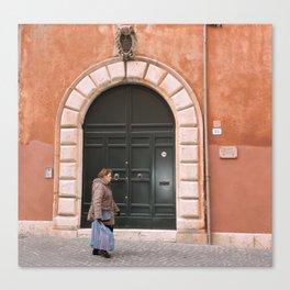 Aranciata Canvas Print