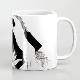 Fighting horses - Ink artwork Coffee Mug