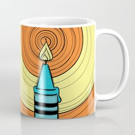 Melting Crayons Coffee Mug