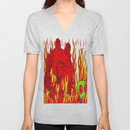 Welcome to Hell Unisex V-Neck