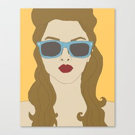 Shady Lady Canvas Print