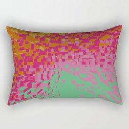 Abstracted world II Rectangular Pillow