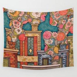 Chimney Fields Wall Tapestry