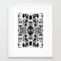philosophy Framed Art Prints featuring philosophy by BUBUBABA