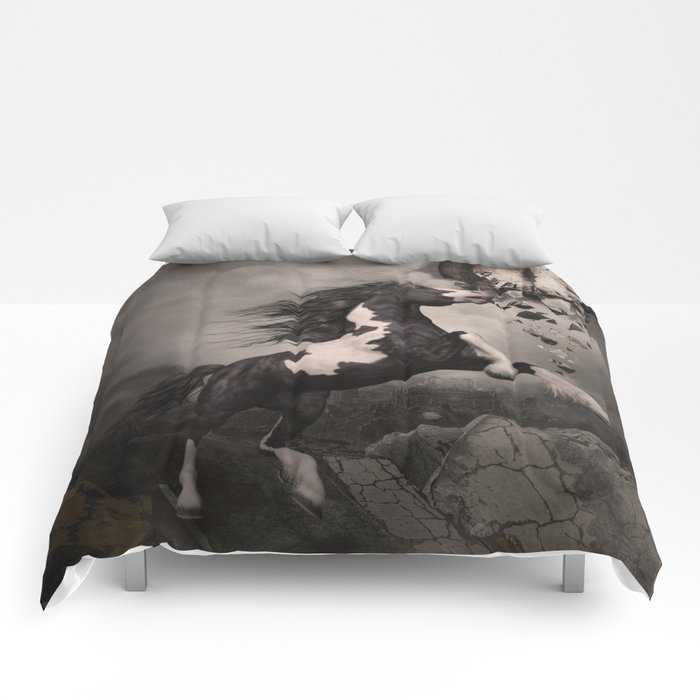 Fleeing from the apocalypse Comforters