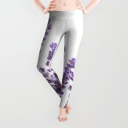 Purple Lavender #1 #decor #art #society6 Leggings