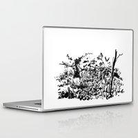 sketch Laptop & iPad Skins featuring sketch by geoffroy dussart