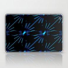 Blue Laserflowers Laptop & iPad Skin