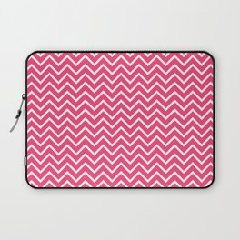 Pink Chevron Pattern Laptop Sleeve