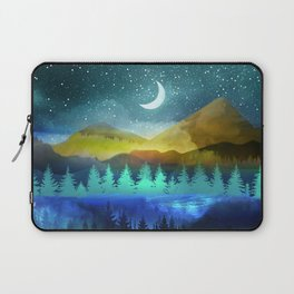 Silent Forest Night Laptop Sleeve