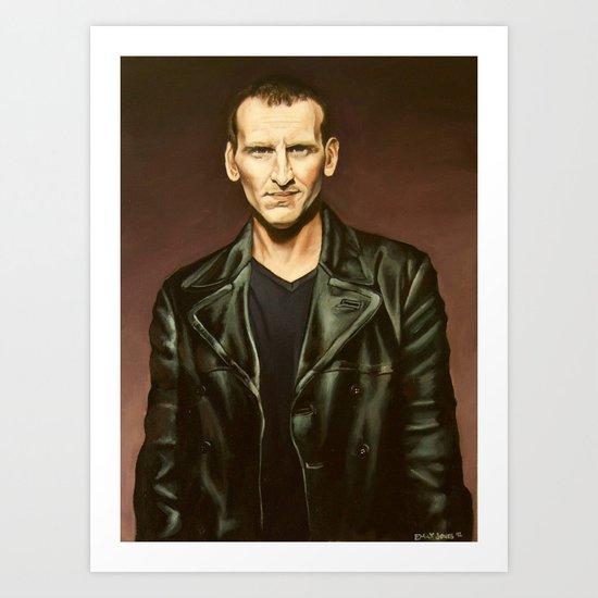 The Ninth Doctor Art Print