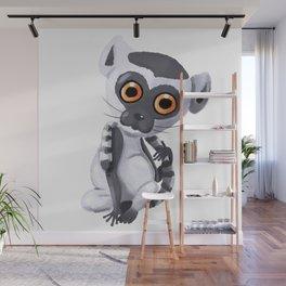 Lenny The Lemur Wall Mural