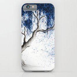 Blue Dream Tree iPhone Case