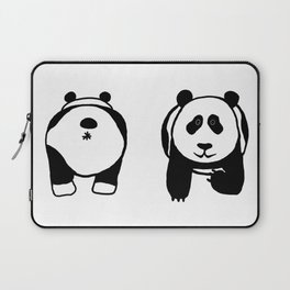Panda booty Laptop Sleeve