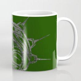 Smoke Frog Grass Coffee Mug