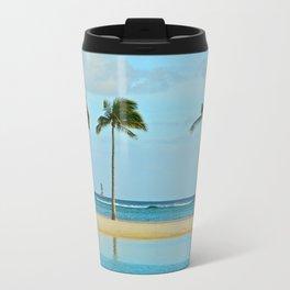 Beach Breeze Metal Travel Mug