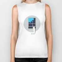 happiness Biker Tanks featuring Happiness by Mumble
