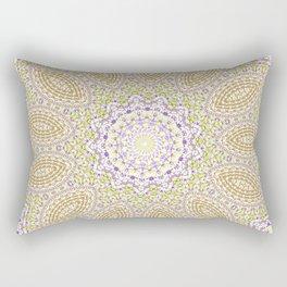 Purple pattern Rectangular Pillow