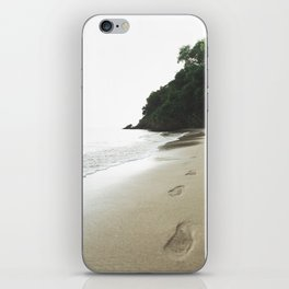 Footsteps in the Sand iPhone Skin