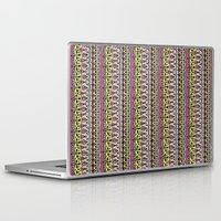 vodka Laptop & iPad Skins featuring Vodka Flow III by Jenndalyn