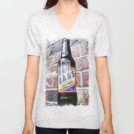 Retro root beer Unisex V-Neck