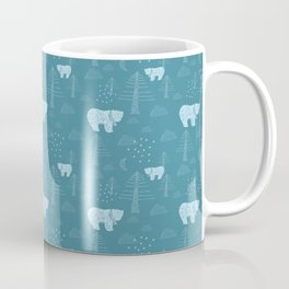Bear in the Woods at Night Coffee Mug