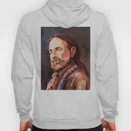 Willie Nelson Acrylic Painting Hoody