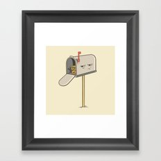 You've Got Spam! Framed Art Print