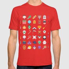 CUTE HALLOWEEN COSTUME FALL PATTERN T-shirt