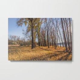 Downstream Campground, North Dakota 21 Metal Print
