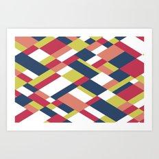 Map Matisse Art Print