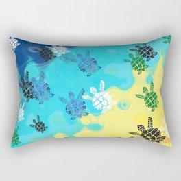 Back to the Ocean Rectangular Pillow