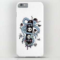 Octopus Skate Color Slim Case iPhone 6 Plus