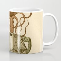 number Mugs featuring Haircut number 8 by Pepetto