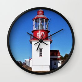 Lighthouse Cap-Chat Quebec Wall Clock