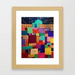 Isfahan Nights Framed Art Print