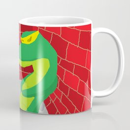 Upset Crocodile Coffee Mug