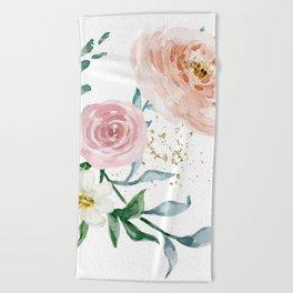 Rose Arrangement No. 1 Beach Towel