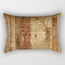 Wood Photography Rectangular Pillow