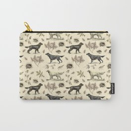 Setters Bird-dog pattern Carry-All Pouch