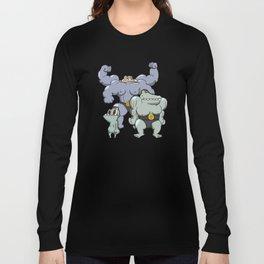 Pokémon - Number 66, 67 & 68  Long Sleeve T-shirt