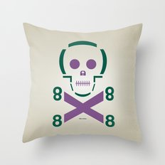 HELLvetica Throw Pillow