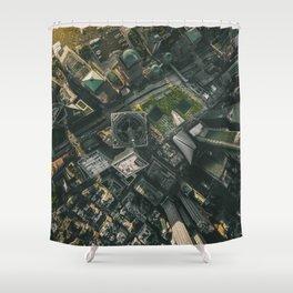 9/11 Memorial Sites Shower Curtain
