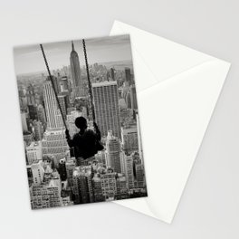Playground Swings by GEN Z Stationery Cards